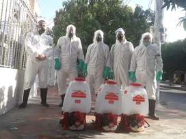 Limpieza y desinfección profesional