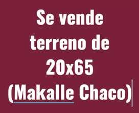 Se vende terreno con título, en Makalle Chaco