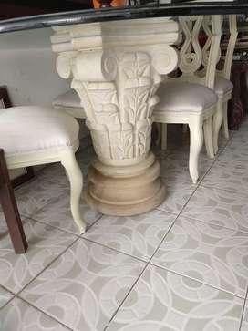 Comedor con piedra Italiana