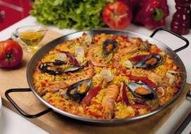 Paella mixta Española
