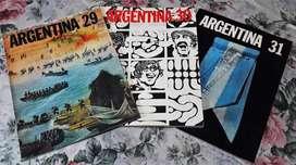 3 Revistas Aerolíneas Argentinas Nº 29, 30 Y 31 Año 1971-72