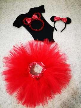 Disfraz de Minny Mouse