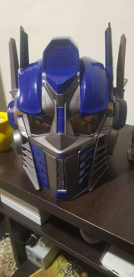 Cambiador de voz transformers óptimus prime