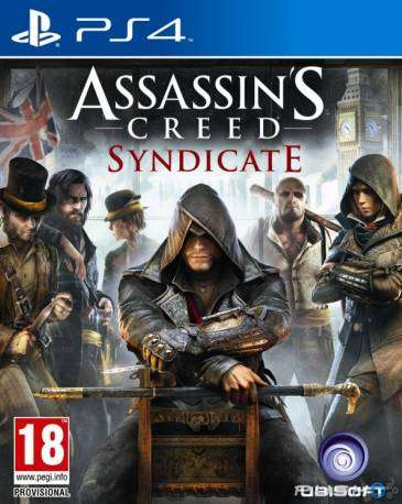 Assassins Creed Syndicate Playstation 4 Ps4, Físico 0