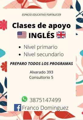 Clases particulares : inglés