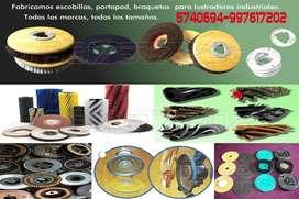 Escobillas para lustradoras/ chasquy, nilfisk, karcher, Electrolux