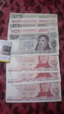Billetes viejos