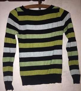 Sweater Rayado Talle 1