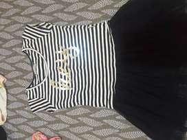 Tres vestidos talle6  de marca mimo y crayón hernosos
