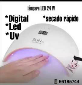 Lámpara profesional para uñas Led y uv digital