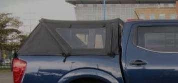 Carpa playera para camioneta doble cabina 0