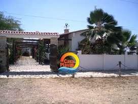 Venta Casa Playas Villamil, ubicada cerca al centro y universidad