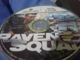 Raven squad xbox 360 original y en buen estado