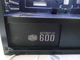 Fuente De Poder Cooler Master 600w 80 Plus