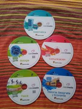 Libromedias Santillana 5 de Secundaria