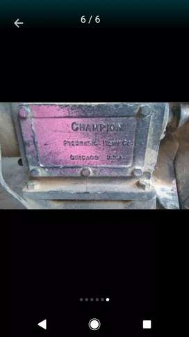Vendo permuto Cabezote para compresor  USA CHAMPION