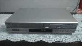Videograbadora / Reproductora JVC con DVD