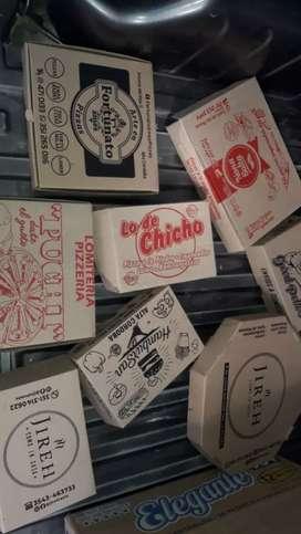 Descartables y cajas de cartón microcorrugados.