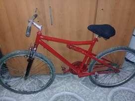 Vendo bici 26 andando bien