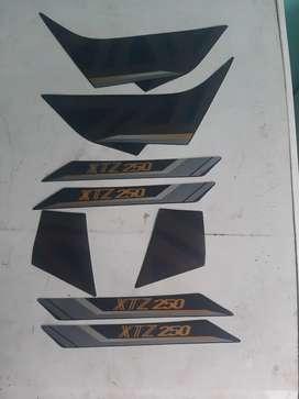 Calcomanias de xtz 250