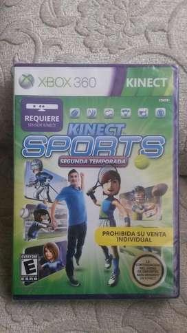 Juego Kinect Sports Season Two Xbox 360 Nuevo Sellado