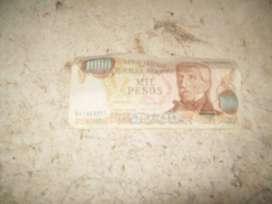 billete 1000 pesos