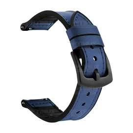 Pulso Manilla Correa De Cuero 20mm Smartwatch Huawei GT2 42mm
