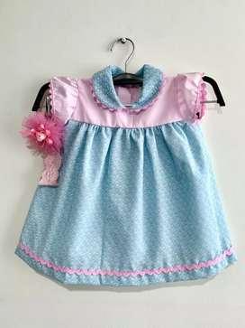 Vestido de niña de 3 a 6 meses nuevo