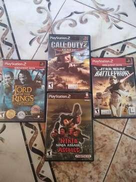 Juegos originales para Playstation 2