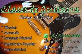CLASES DE GUITARRA EN ZONA SUR!!!