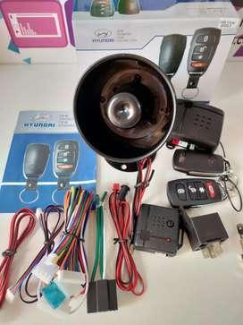 Alarma Hyundai  con 2 controles Pack completo
