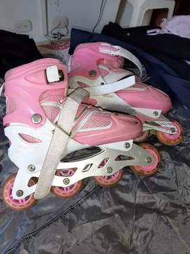 Vendo patines en linea para niña