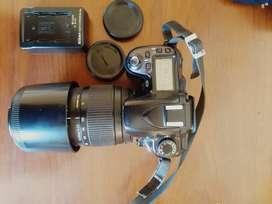 Vendo o cambio Nikon D80 + Sigma 70-300 1:4.4-5 macro