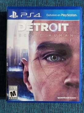 Vendo O Cambio Detroit  Ps4 Buen Estado