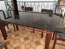 Mesa de diseño living comedor