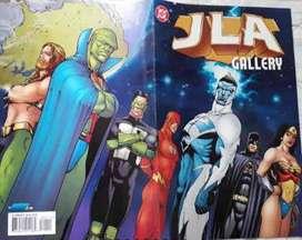 Comic JLA GALLERY PIN UPS