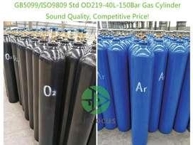 Tubos de gases indusriales: argòn, nitrògeno, atal, oxìgeno