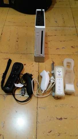 Nintendo Wii Hackeado con mandos