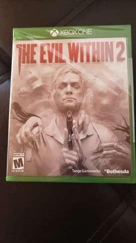 The Evil Within 2 XBox One Nuevo Físico y Otros incluye envío Nacional Oferta!!