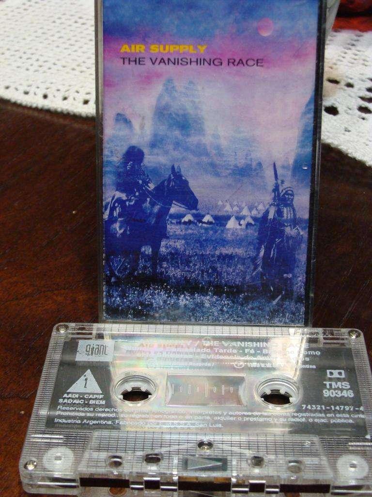 Air Supply - The Vanishing Race - Cassette ARG 0