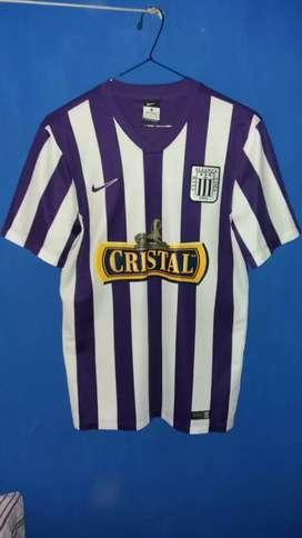 Camiseta Alianza Lima octubre 2014