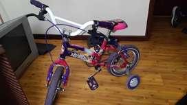 Bicicleta de niña perfecto estado