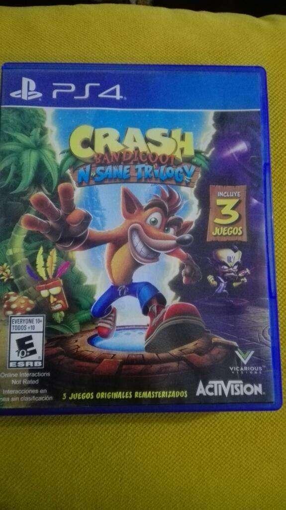Crash 3 en 1 Ps4 0