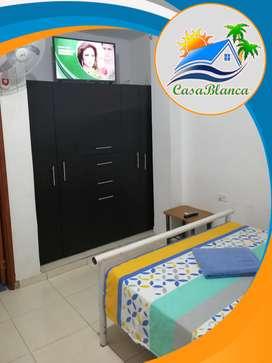 Apartamentos por dias en Santa Marta a 100 metros del Mar Bello Horizonte