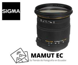 Lente Sigma 17-50mm f/2.8 EX DC OS para Canon