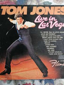 Lp Tom Jones live in Las vegas