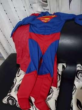 Disfraz super Man talla 4