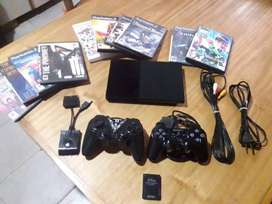 Vendo o permuto playstation 2 chipiada