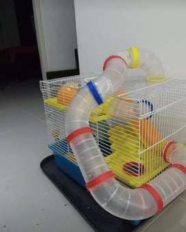 Jaula para hamster de segunda