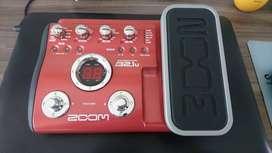 Pedal para Bajo Multi efectos Zoom B2.1u